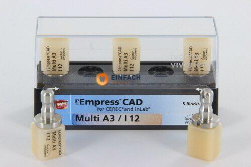 Bild von IVOCLAR IPS EMPRESS CAD MULTI A3-I12 (5st)
