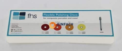 Picture of FHS FLEXIBLE POLISHING DISCS INTRO KIT 10mm + MD2-095